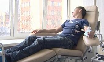 Вологодские студенты прошли посвящение вдоноры крови