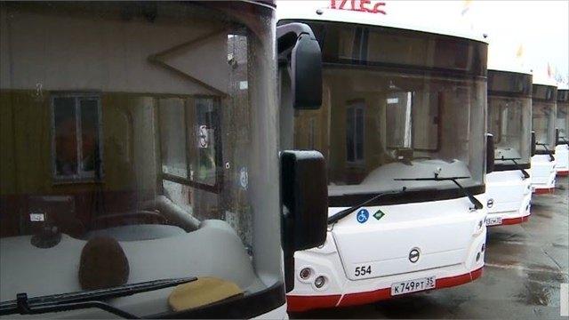 Новые автобусы вышли наулицы Череповца