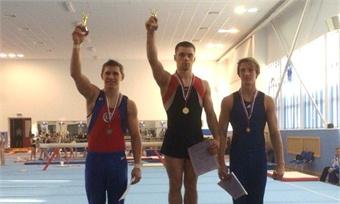 Череповецкие гимнасты отлично выступили насоревнованиях вОбнинске