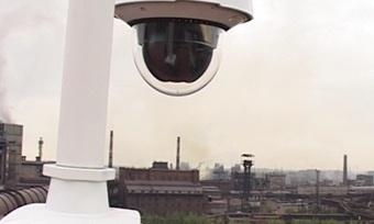 Камеры видеофиксации следят заэкологией наметкомбинате