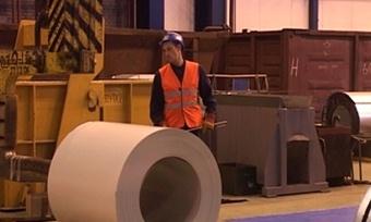«Северсталь» открыла вторую линию производства металла сполимерным покрытием