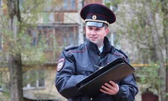 Полицейский изВологды поборется зазвание Народного участкового России