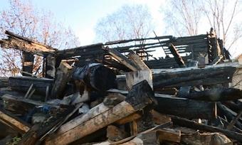 Разрушенный «дом соштурвалами» снова выставили напродажу вВологде