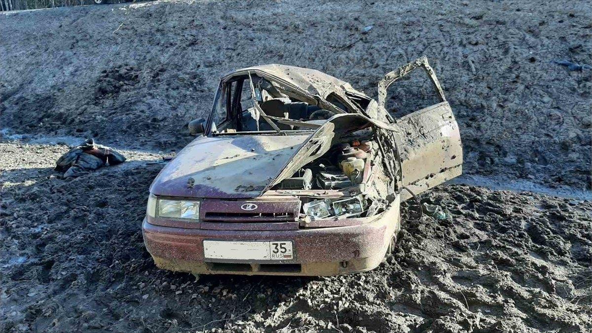 Машина съехала страссы: пострадали 2человека