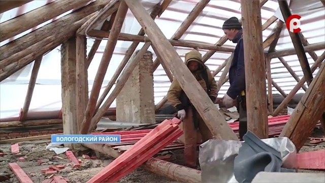 18домов капитально отремонтировали вэтом году наВологодчине