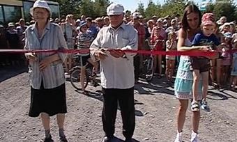 УЧереповецких дачников появилась новая дорога