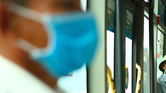 Череповчане ненарушали масочный режим вавтобусах осенью