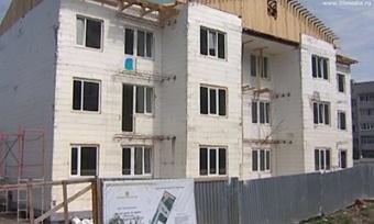 Дома изклееного бруса заменят вологжанам аварийное жильё
