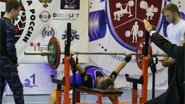 Череповчанка стала призером Кубка России посиловому троеборью