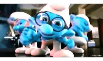 Синие человечки познакомились сВологдой