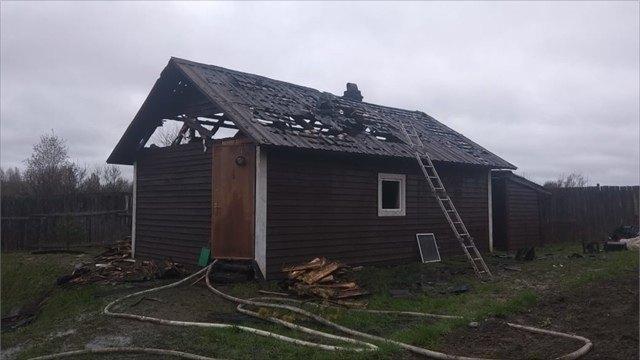 Вологжанин нарушил правила пожарной безопасности испалил баню
