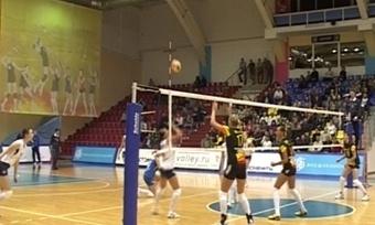 Игру череповецких волейболисток болельщики увидят впрямом эфире на«Канале-12»