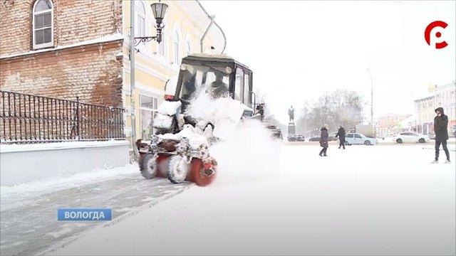 «Магистраль» несправилась суборкой снега вВологде
