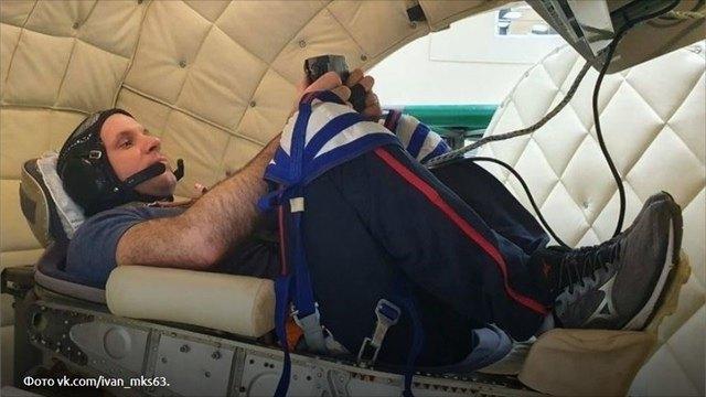 Северянин Иван Вагнер проходит реабилитацию после полёта вкосмос