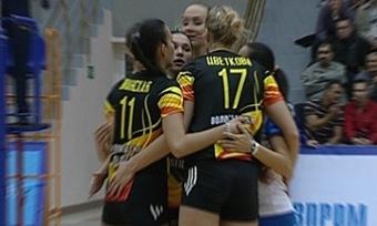 Волейбольная команда «Северсталь» выиграла первый официальный турнир года