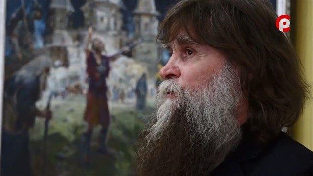 Новую персональную выставку открыл заслуженный художник России Владимир Латынцев