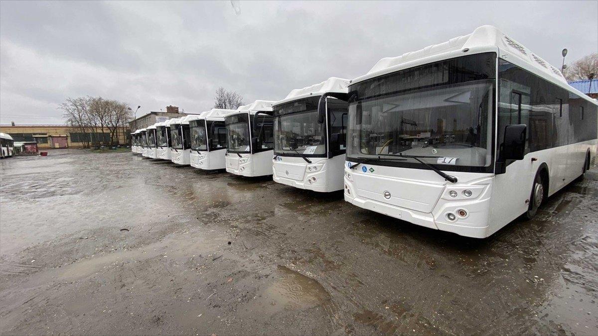 17новых автобусов пришли вЧереповец