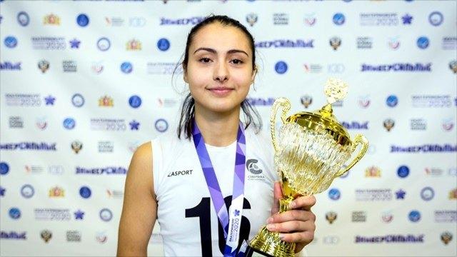 Череповчанка стала лучшей волейболисткой Универсиады
