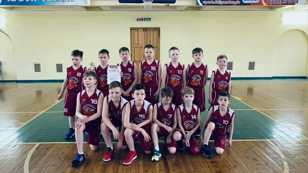 Юные череповецкие баскетболисты превзошли сверстников изЦСКА