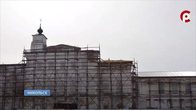 Ремонт Сретенского собора возобновился вНикольске