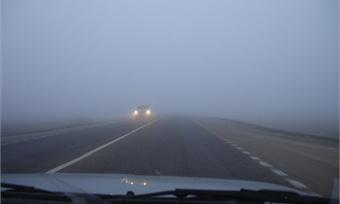 ГИБДД поЧереповцу предупреждает: надорогах туман