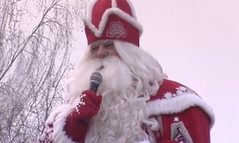 Дед Мороз отправится наСеверный Полюс
