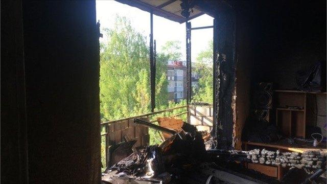 Жизни детей, которые пострадали при пожаре наулице Горького вЧереповце, ничего неугрожает