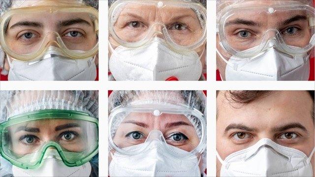 Фотограф изКотласа показала навсю страну лица медиков, которые борются скоронавирусом