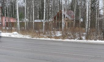 Жителям Владимировки помешала трасса