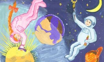 Череповецкая школьница нарисовала лучший вмире рисунок