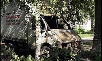 Автомобиль сгорел вЧереповце