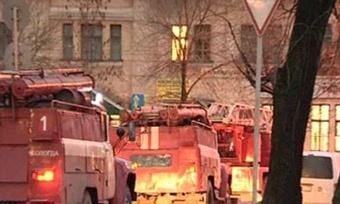 ВЧереповецком районе загорелась квартира пока хозяйки небыло дома