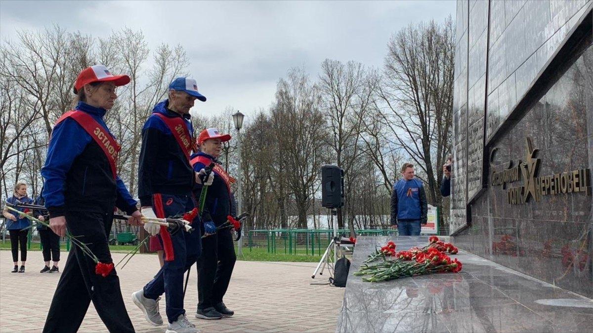 Праздничный марафон коДню Победы стартовал вЧереповце