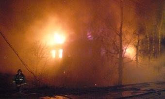 Пофакту гибели 4человек напожаре вКириллове возбуждено уголовное дело