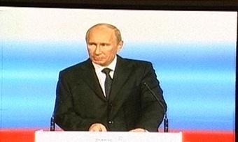 Новые социальные инициативы озвучил В.Путин вЧереповце