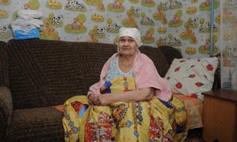 Валентина Яковлевна благодарит запомощь
