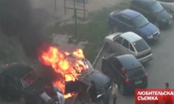 Автомобили вВологде поджигали конкуренты