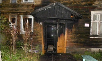 Пожар унес жизнь 27-летнего вологжанина