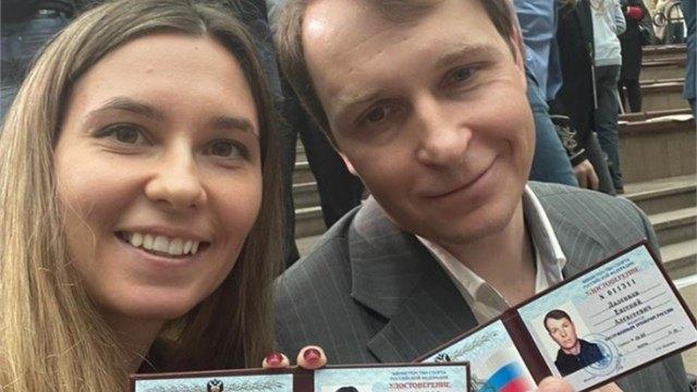 Череповецкая конькобежка получила удостоверение Заслуженного мастера спорта России