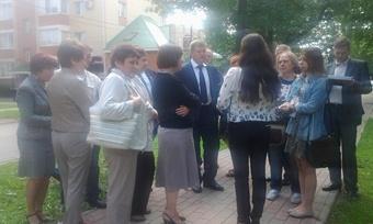 Мэр Череповца Юрий Кузин осмотрел историческую часть города (ФОТО)