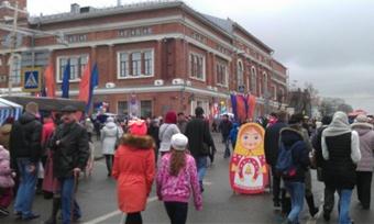 Череповчане отмечают День города наМилютинской ярмарке