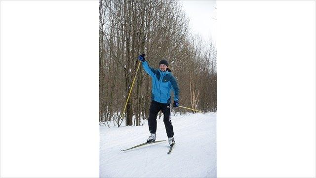 Лыжни накатаны, горка закрыта