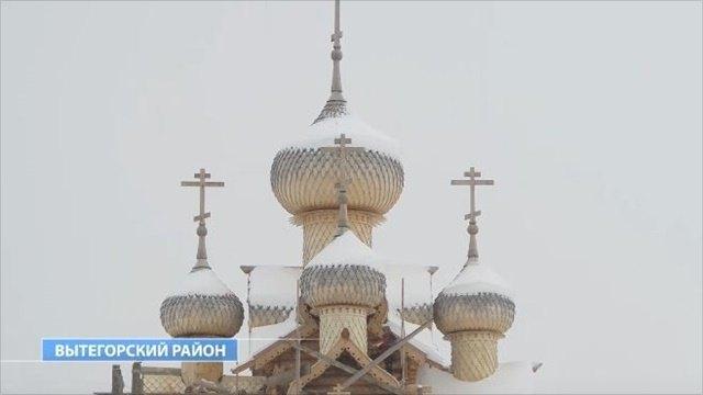 Реставрация уникального храма 18-го века вВытегорском районе завершена