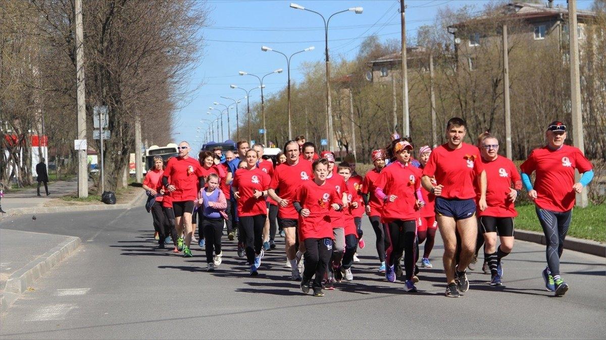 Участники пробега Череповец— Шалимово вчесть Дня Победы преодолели 60километров