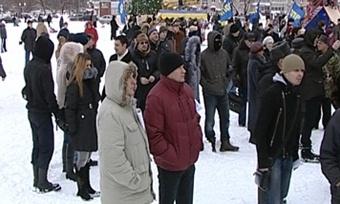 Череповец вминувшие выходные присоединился кмитингам «Зачестные выборы»