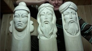 Череповец примет первый фестиваль деревянных скульптур