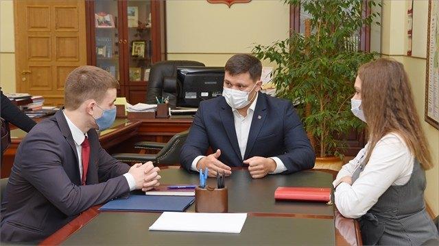 Наодин день второкурсник вологодского филиала РАНХиГС занял пост мэра Вологды
