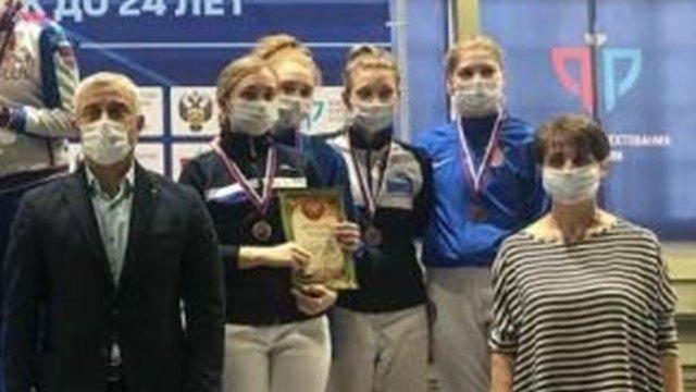 Череповецкая фехтовальщица— бронзовый призер Первенства России
