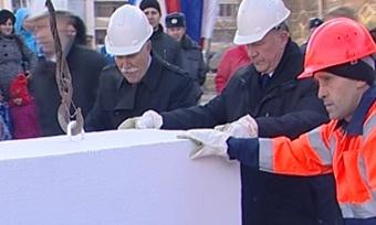 Камень воснование нового детского сада заложили сегодня вЧереповце
