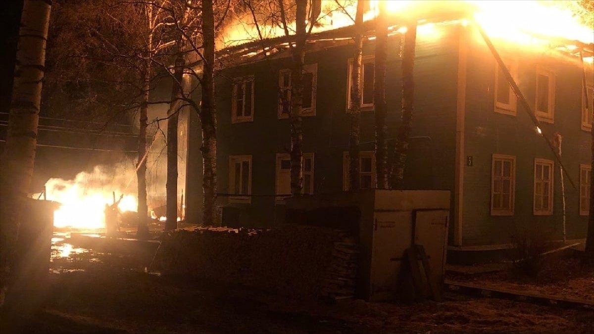 Семь человек остались без крыши над головой вВеликоустюгском районе